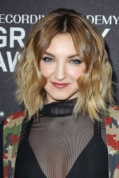 Julia Michaels At Delta Airlines celebrates 2018 GRAMMY Weekend event at The Bowery Hotel in New York City
