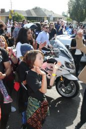 Jurnee Smollett-Bell At Kingdom Day Parade, Los Angeles