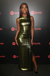 Justine Skye At 2018 Spotify Best New Artists Party in New York