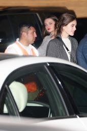 Kaia Gerber Grabs dinner at Nobu restaurant with a friend in Malibu