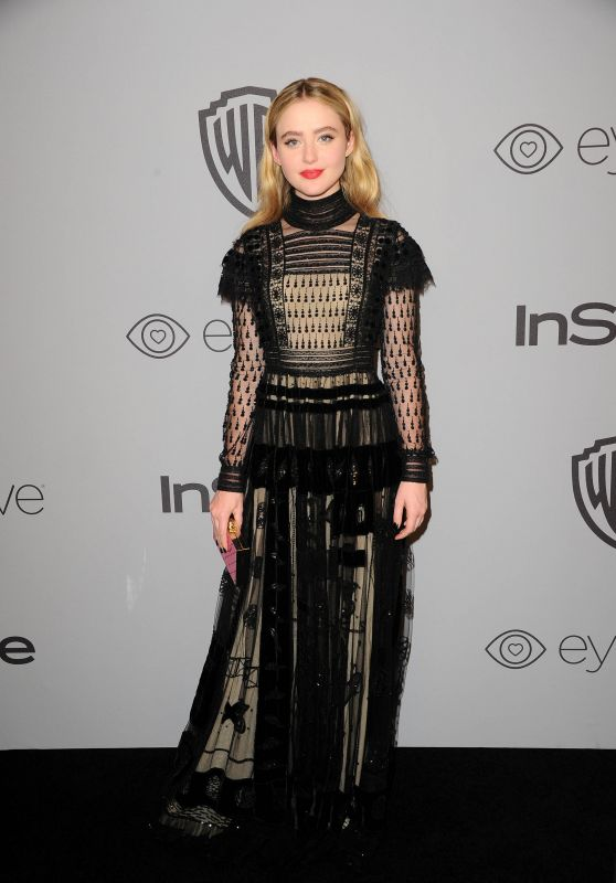 Kathryn Newton At InStyle and Warner Bros Golden Globes After Party in LA