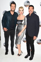 Katy Perry At Disney ABC Television TCA Winter Press Tour Red Carpet in LA