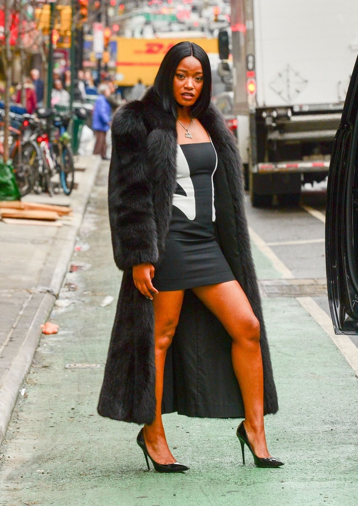 Keke Palmer Out in New York City - Celebzz - Celebzz