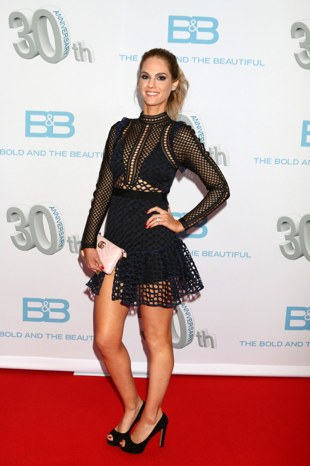 Kelly Kruger At The Bold And The Beautiful 30th