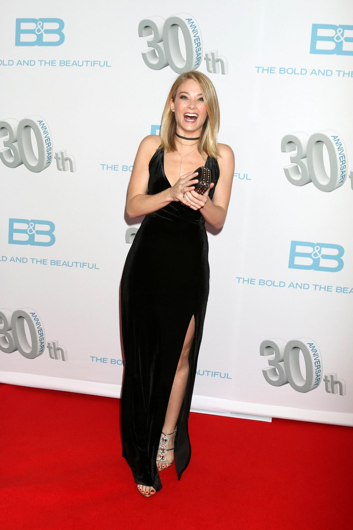 Kim Matula At The Bold And The Beautiful 30th Anniversary