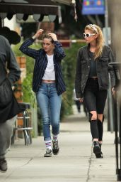 Kristen Stewart & Stella Maxwell Out and about in Los Angeles
