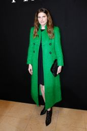 Lake Bell At Giorgio Armani Prive Show at 2018 Haute Couture Fashion Week in Paris
