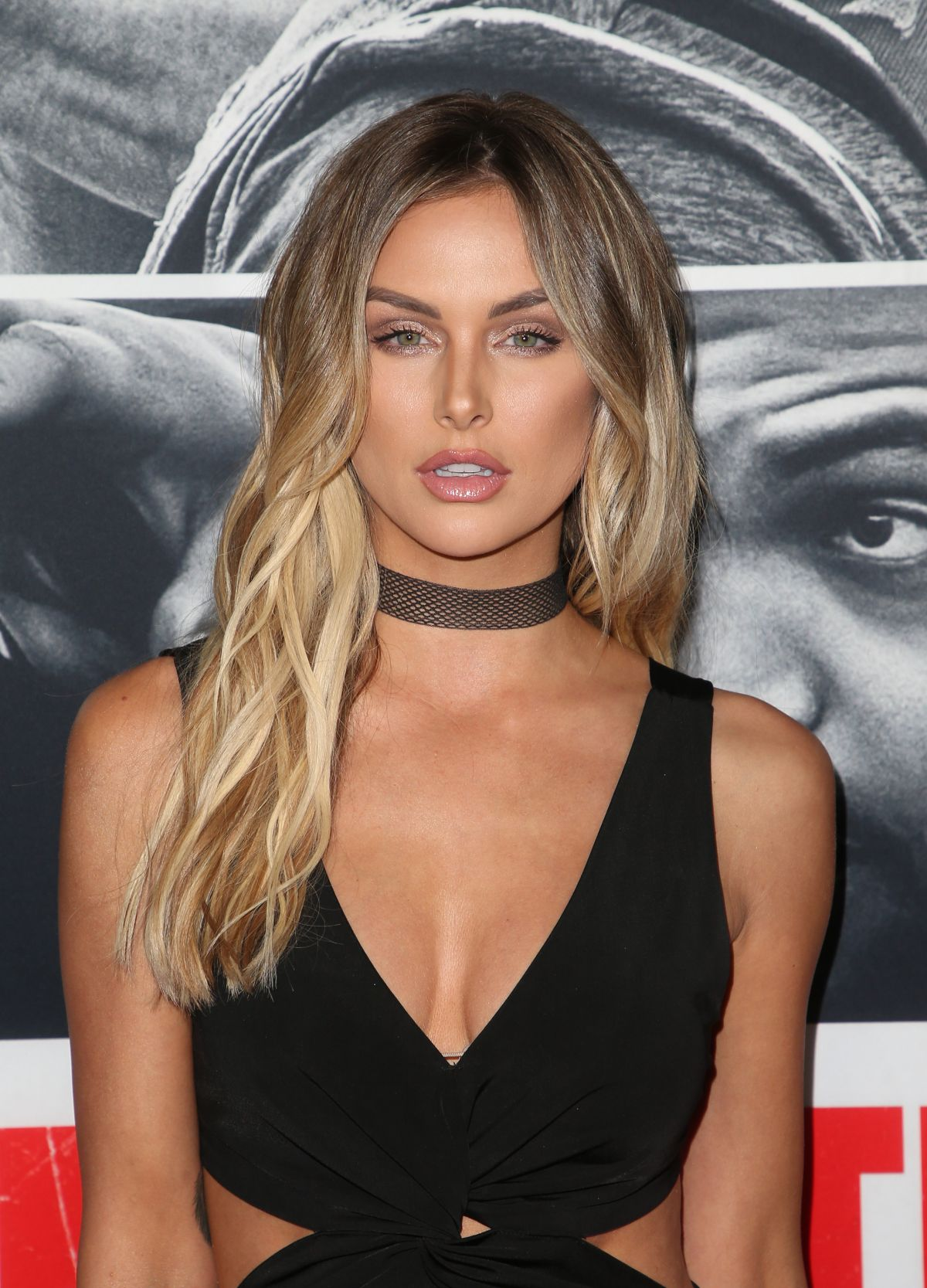 Lala Kent At 'Den of Thieves' film premiere in Los Angeles