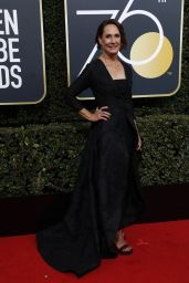 Laurie Metcalf At The 75th Annual Golden Globe Awards at The Beverly Hilton Hotel in Beverly Hills