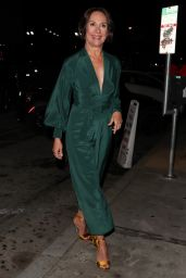 Laurie Metcalf Glows in emerald green as she dines at Craig