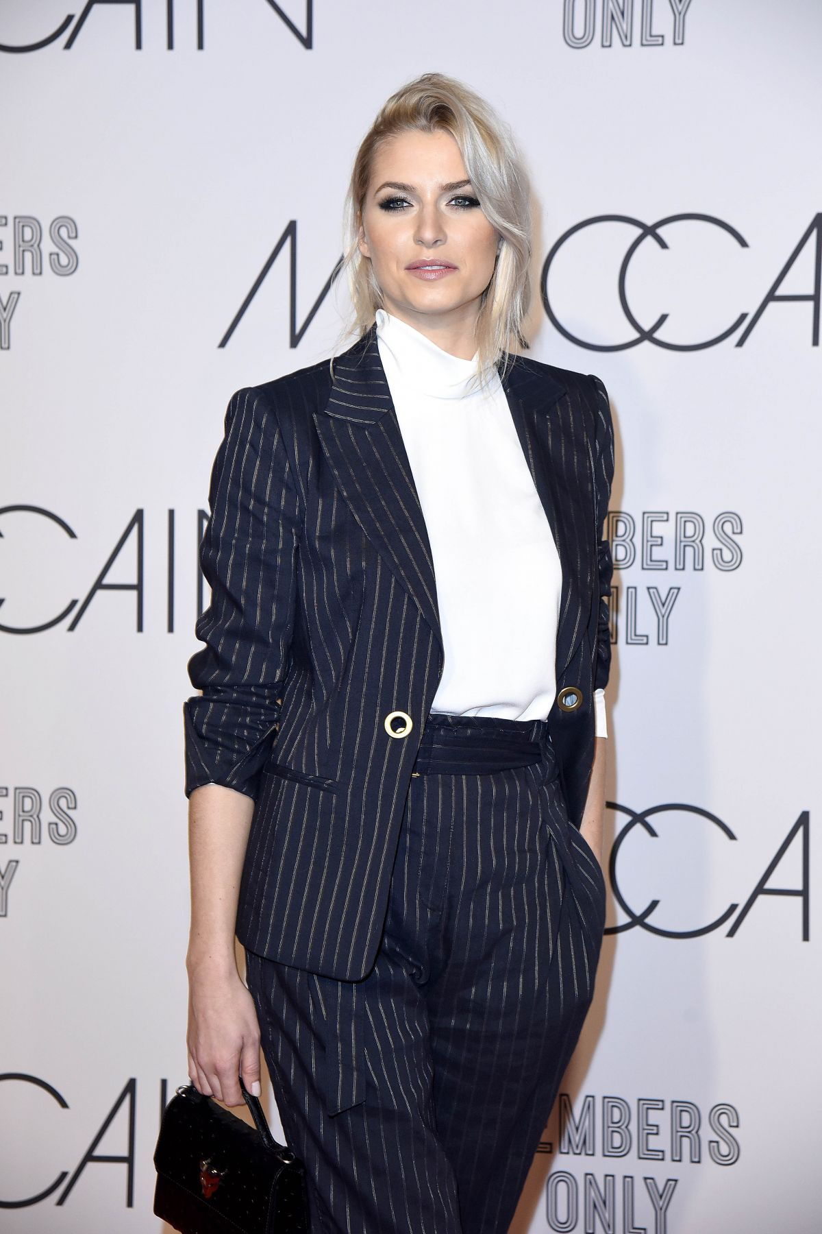 Lena Gercke Lena Meyer Landrut At Marc Cain Fashion Show