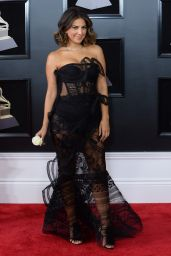Liz Hernandez At 60th Annual Grammy Awards in NYC