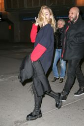 Miley Cyrus Leaves Madison Square Garden