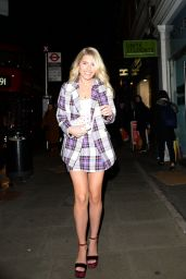 Mollie King attends Robinsons: Cordially Invited - opening night in London, UK