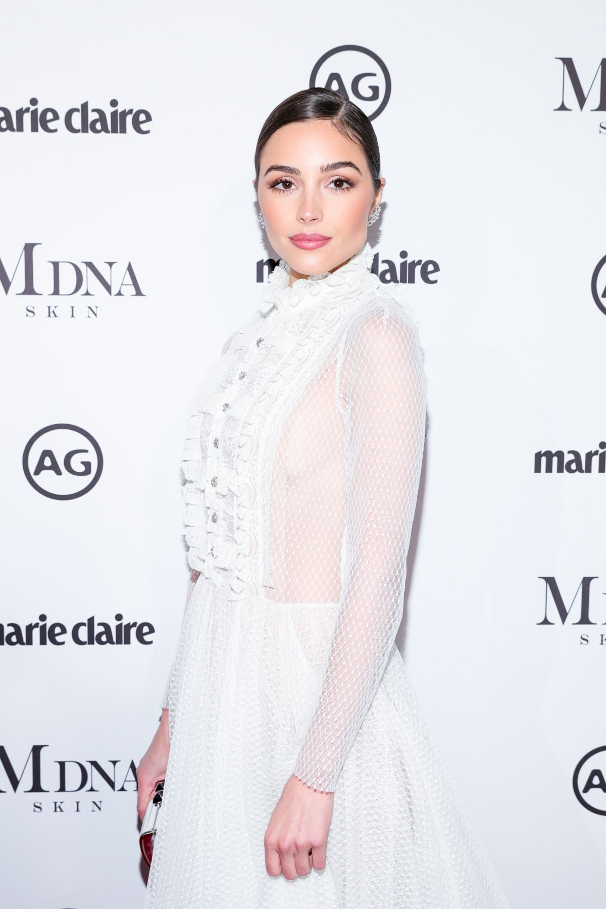 Olivia Culpo At Marie Claire's Image Makers Awards 2018 in West Hollywood - Celebzz - Celebzz