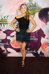 Pascale Hutton At Hallmark Channel All-Star Party, Arrivals, TCA Winter Press Tour, Los Angeles