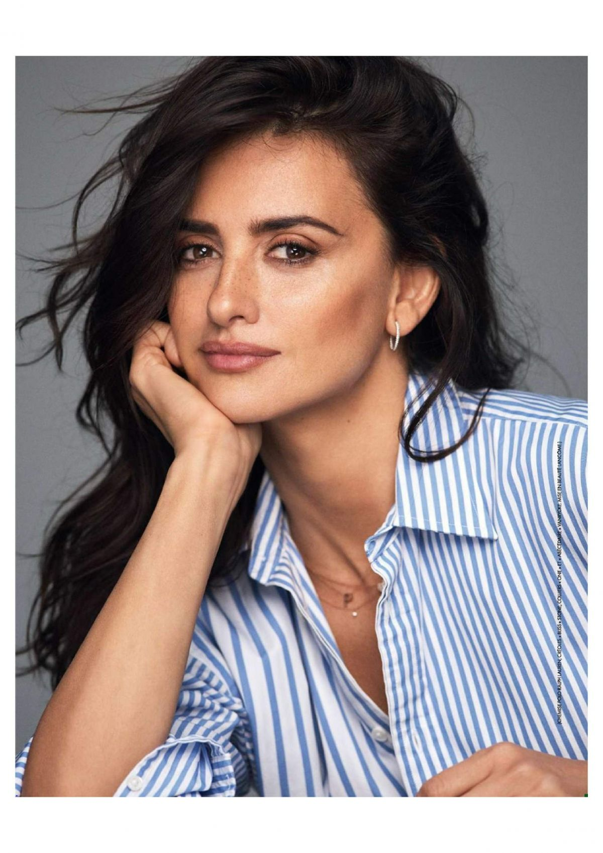 Penelope Cruz - Elle France January 2018 - Celebzz - Celebzz Penelope Cruz