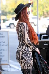 Phoebe Price Seen in Beverly Hills