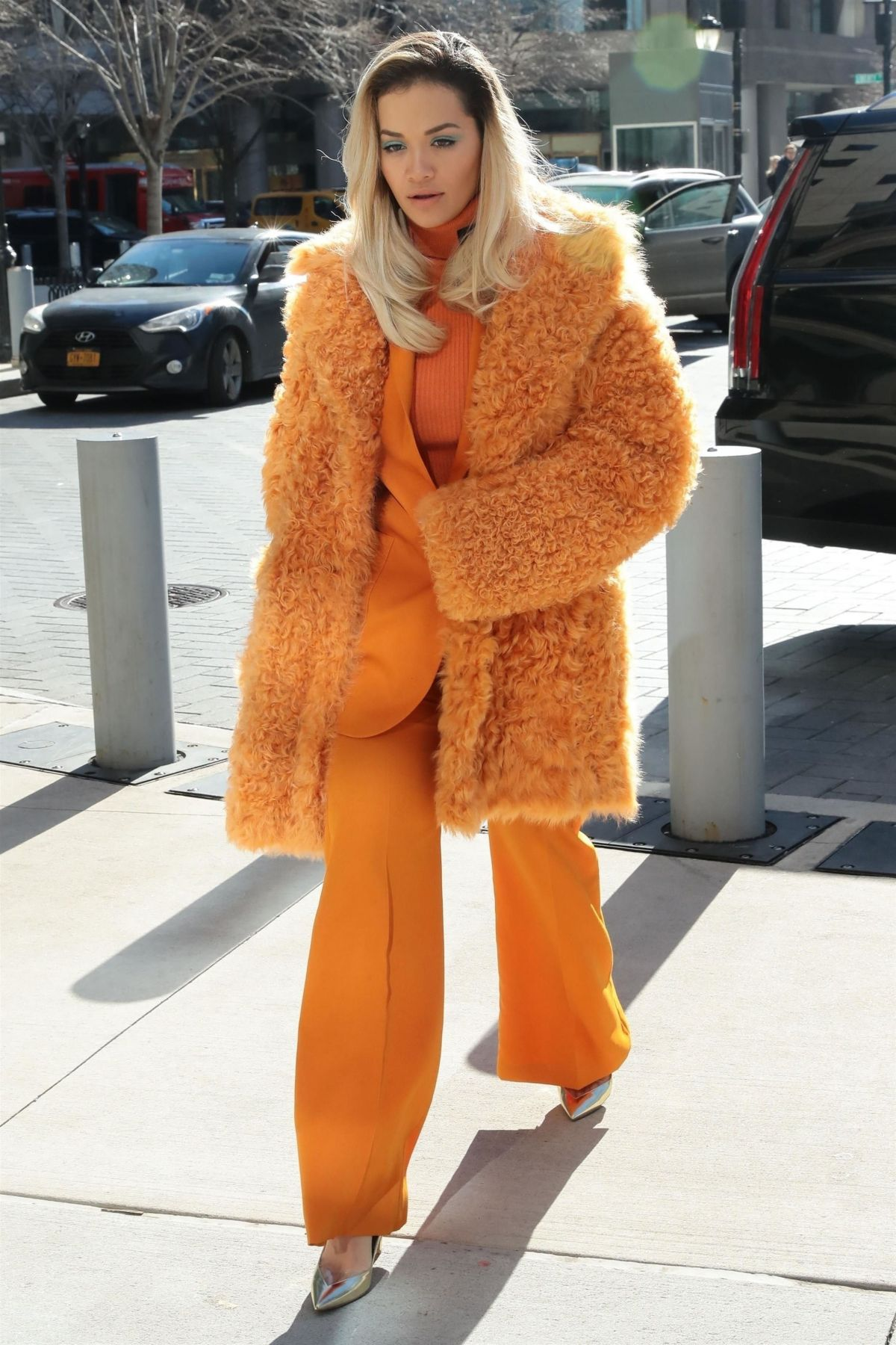 Rita ora stepped out in new york on
