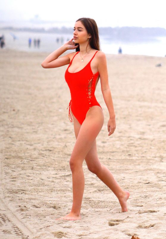 Sophie Mudd On the beach in Venice