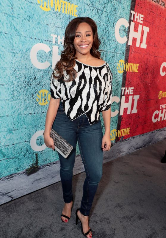 Tai Davis At The Premiere of The Chi, Los Angeles