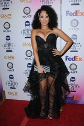 Tamera Mowry-Hously At 49th NAACP Image Awards Dinner and Ceremony held at Pasadena Conference Building