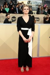 Taylor Schilling At 24th Annual Screen Actors Guild Awards in Los Angeles