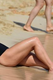 Vicky Pattison On the beach in Cape Verde
