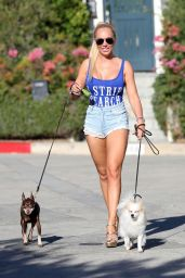 Aisleyne Horgan-Wallace Out & About in Los Angeles
