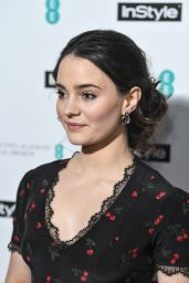 Aisling Franciosi At InStyle EE Rising Star Party at Granary Square Brasserie, London, UK