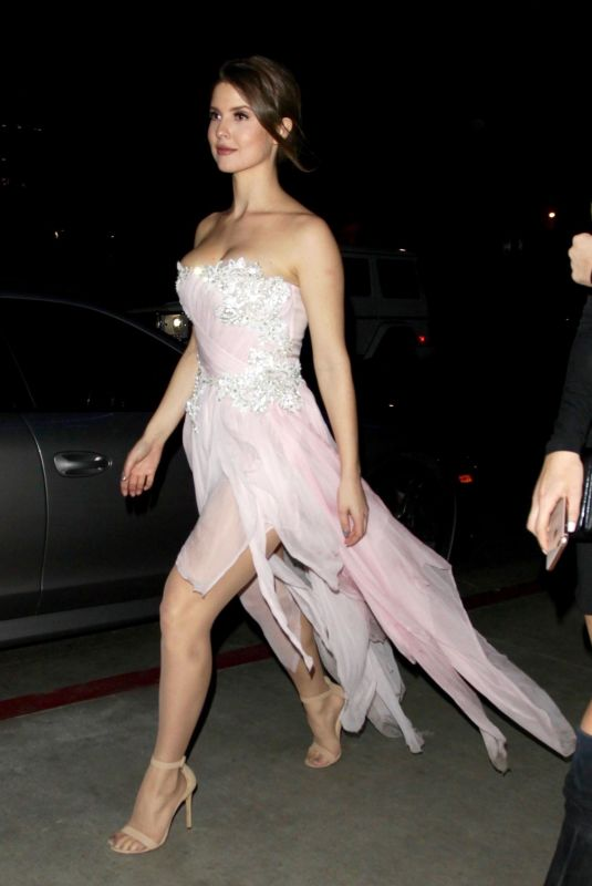 Amanda Cerny Was spotted heading to the Avenue afterparty after an event in Los Angeles