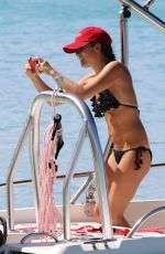 Andrea Corr Day at the beach in Barbados
