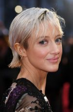 Andrea Riseborough At 71st British Academy Film Awards, Royal Albert Hall, London, UK