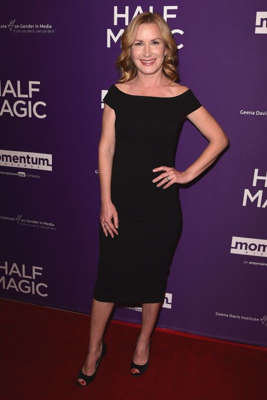 Angela Kinsey At Premiere of Momentum Pictures