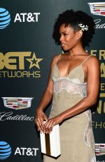 Angela Lewis At ABFF Honors, Arrivals, Los Angeles