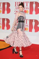 Anna Friel At 38th Brit Awards, Arrivals, The O2 Arena, London