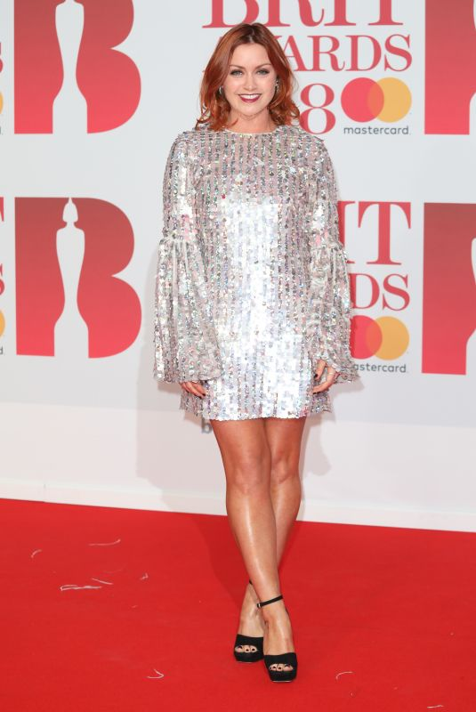 Arielle Free At 38th Brit Awards, The O2 Arena, London, UK