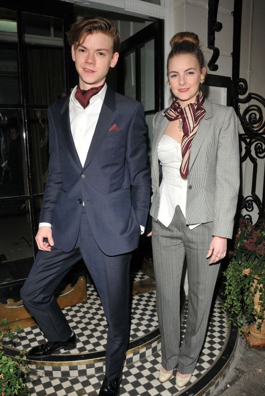 Ava Sangster At The Grey Goose x GQ Style pre BAFTAs dinner, London, UK