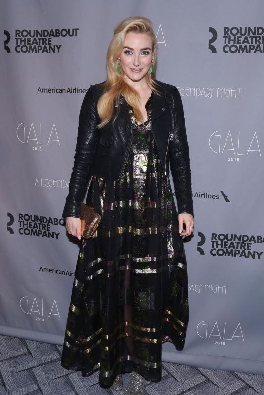 Betsy Wolfe At 2018 Roundabout Theatre Company Gala at the Ziegfeld Ballroom, New York