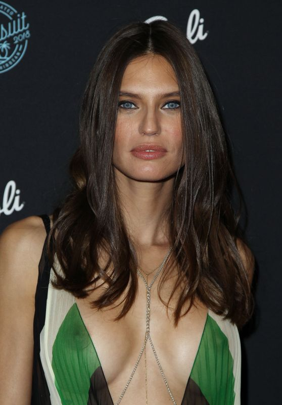 Bianca Balti At 2018 Sports Illustrated Swimsuit Issue Launch, New York