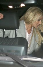 Britney Spears Leaving with her boyfriend after attending the Hollywood Beauty Awards at the Avalon in Los Angeles