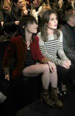 Charlotte Gainsbourg At Yves Saint Laurent Paris Fashion Week