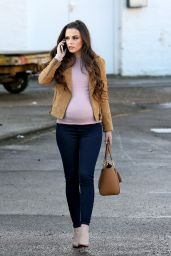 Cher Lloyd At Ealing Studios in London