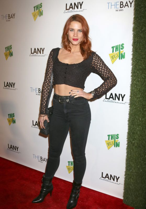 Courtney Hope At 7th Annual LANY Entertainment Mixer in Hollywood