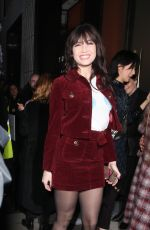 Daisy Lowe Arrives at the Henry Holland show at London Fashion Week