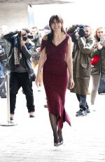 Daisy Lowe At Roland Mourret Show At London Fashion Week