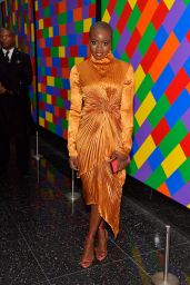 """Danai Gurira At screening of """"Black Panther"""" hosted by The Cinema Society in NYC"""
