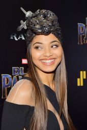 """Danielle Herrington At screening of """"Black Panther"""" hosted by The Cinema Society in NYC"""