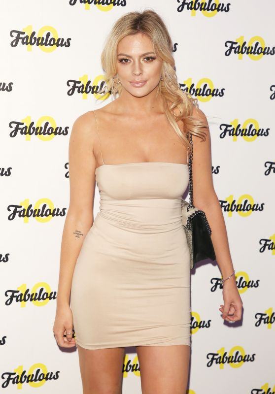 Danielle Sellers At Fabulous Magazine 10th Birthday Party in London