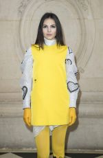 Doina Ciobanu At Christian Dior show, Arrivals, Fall Winter 2018, Paris Fashion Week, France